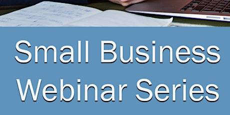 "Small Biz Webinar #35 -  ""Scaling vs. Pivoting Your Business"" tickets"