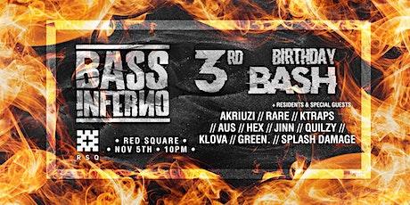 Bass Inferno - 3rd Birthday tickets