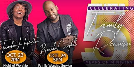 Night of Worship & Family Worship Service tickets