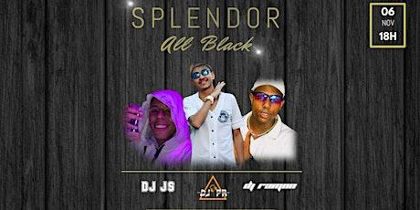 Splendor | All Black ingressos
