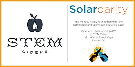 Solardarity October 2021: Stem Ciders tickets