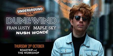 Underground Sound Presents - Roadtrip & The Workshop tickets