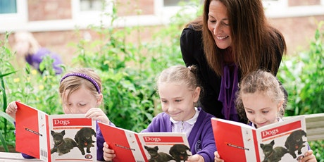 Reception Prospective Parents Open Events for September 2022 intake tickets