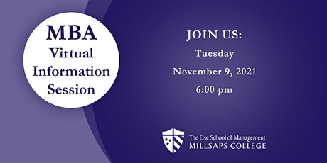 Millsaps MBA Virtual Information Session tickets