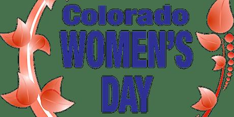 Colorado Womens Day, March 10 & 11, 2022 tickets