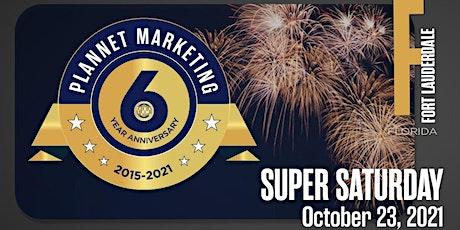 PlanNet Marketing Six Year Anniversary tickets