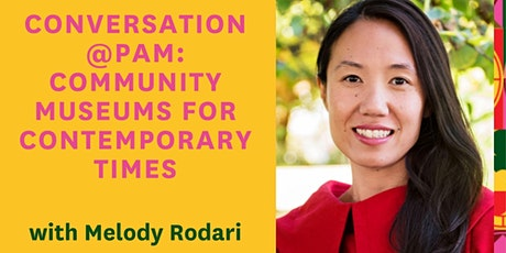Conversation@PAM: Community Museums for Contemporary Times tickets
