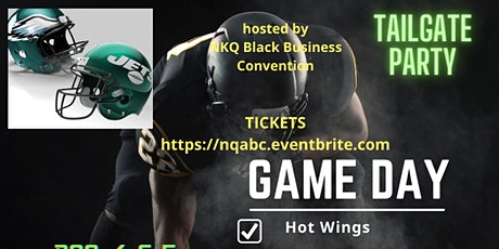 EAGLES vs JETS TAILGATE and holiday shopping Party tickets