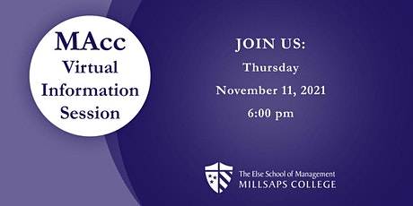 Millsaps Master of Accountancy Virtual Information Session tickets