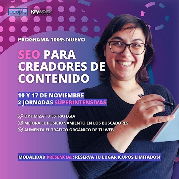 Imagen de PRIMER CURSO SEO PARA CREADORES DE CONTENIDO