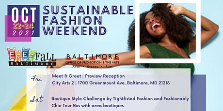 Sustainable Fashion Weekend |  BALTIMORE tickets