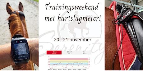Trainingsweekend met hartslagmeter tickets