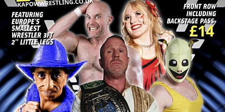 Live Wrestling in Camberley. Featuring TNA superstar. tickets