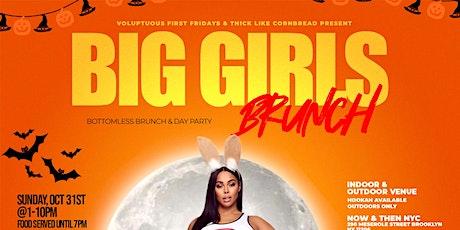 Big Girls Brunch - Bottomless Brunch & Day Party - Halloween Edition tickets