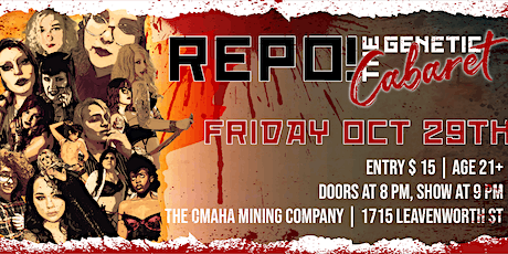 REPO! The Genetic Cabaret tickets