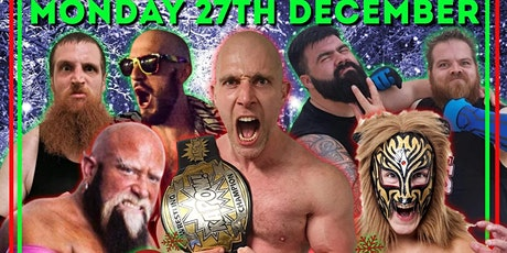 Live Wrestling in Gosport. Christmas Spectacular tickets