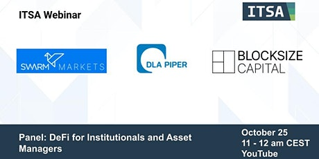 Panel Discussion: DeFi for Institutionals and Asset Managers tickets