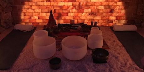 Salt Cave Sound Journey Throat Chakra tickets