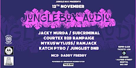 JUNGLE BOX AUDIO tickets