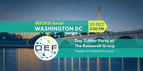 DEF Washington DC: DEF2021 AfterParty (In-Person) tickets