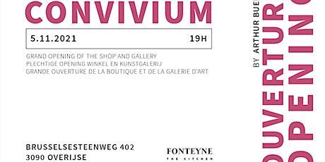 Opening art gallery @ Fonteyne The Kitchen tickets