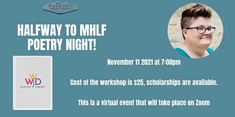 Halfway to MHLF: Poetry Evening with Savannah Sipple tickets