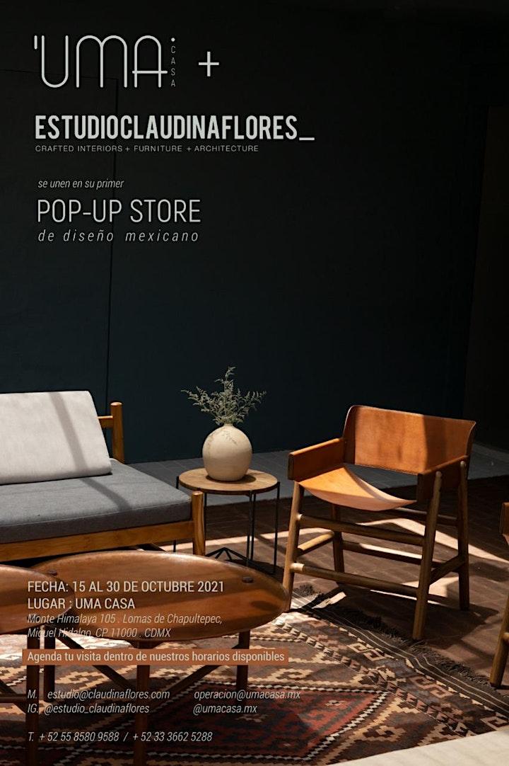 POP-UP STORE : UMA CASA + ESTUDIO CLAUDINA FLORES image