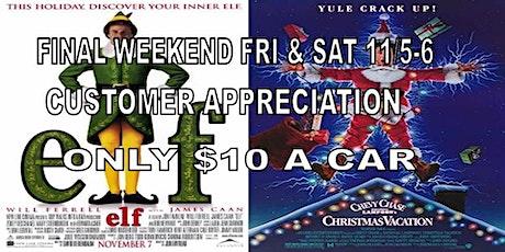 FINAL WEEKND - ELF & CHRISTMAS VACATION at BDI (Fri & Sat 11/5-6) tickets
