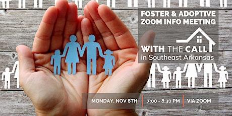 November 2021 Online Info Meeting via ZOOM tickets
