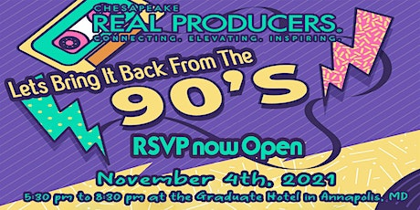 CRP Let's Bring It Back From The '90s Awards Party (Agents RSVP Only) tickets