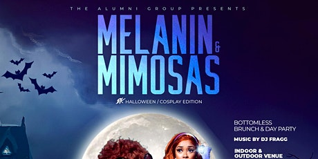 Melanin & Mimosas - Bottomless Brunch & Day Party - Halloween Edition tickets