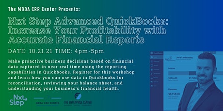 Advanced  Quickbooks Online: Financial Reporting & Reconciliation Workshop tickets