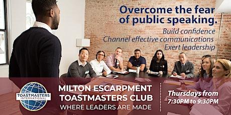 Public Speaking and Leadership Skills Development Meeting tickets
