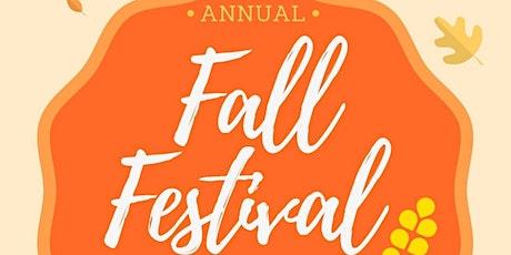 Annual Fall Festival tickets