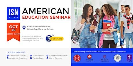Study in the USA Seminar - Bahrain tickets
