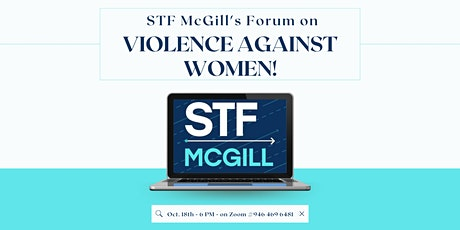 STF McGill  Forum on Violence Against Women tickets