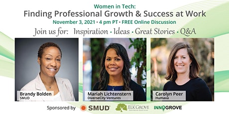 Women in Tech: Finding Professional Growth & Success at Work w/a GIVEAWAY! tickets