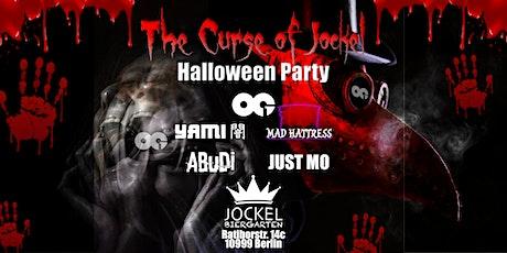 Halloween Party - The Curse of Jockel (Indoor 2G) Tickets