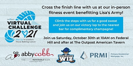 Lisa's Army Fitness Challenge FINISHER - Victory Lap & Celebratory Drinks tickets