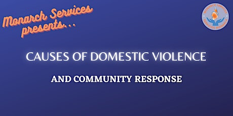 What Causes Violence  & Community Response tickets