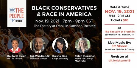 Black Conservatives and Race in America tickets