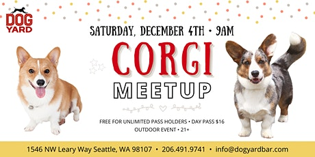 Corgi Meetup at the Dog Yard tickets