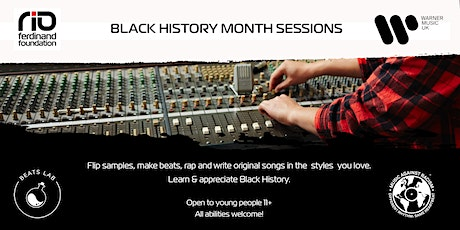 BLACK HISTORY MONTH SESSIONS tickets