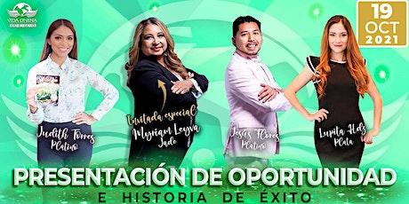 PRESENTACION DE NEGOCIOS E HISTORIA DE EXITO SAN JOSE tickets
