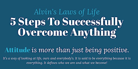 Alvin Law:  How to Successfully Overcome Anything tickets