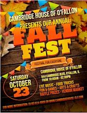 15th Annual Fall Festival  at Cambridge House in O'Fallon tickets