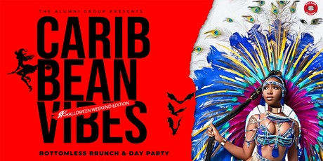 Caribbean Vibes Bottomless Brunch & Day Party - Halloween Weekend Edition tickets