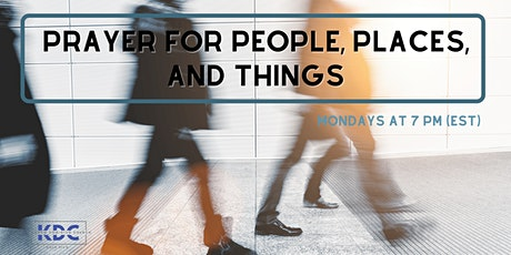 Prayer for People, Places, and Things tickets