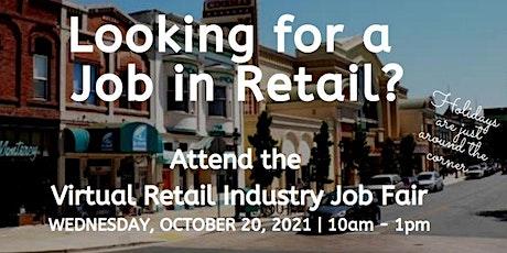 October Retail Industry Virtual Job Fair tickets