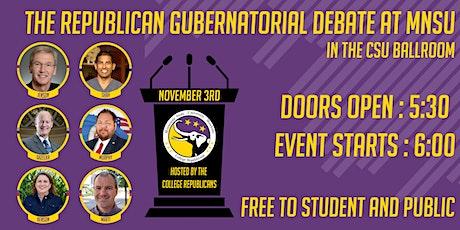 The Republican Gubernatorial Debate/forum at MNSU tickets